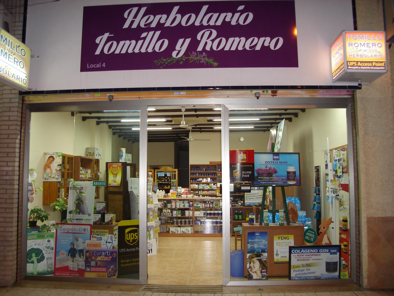 Herbolario Tomillo y Romero